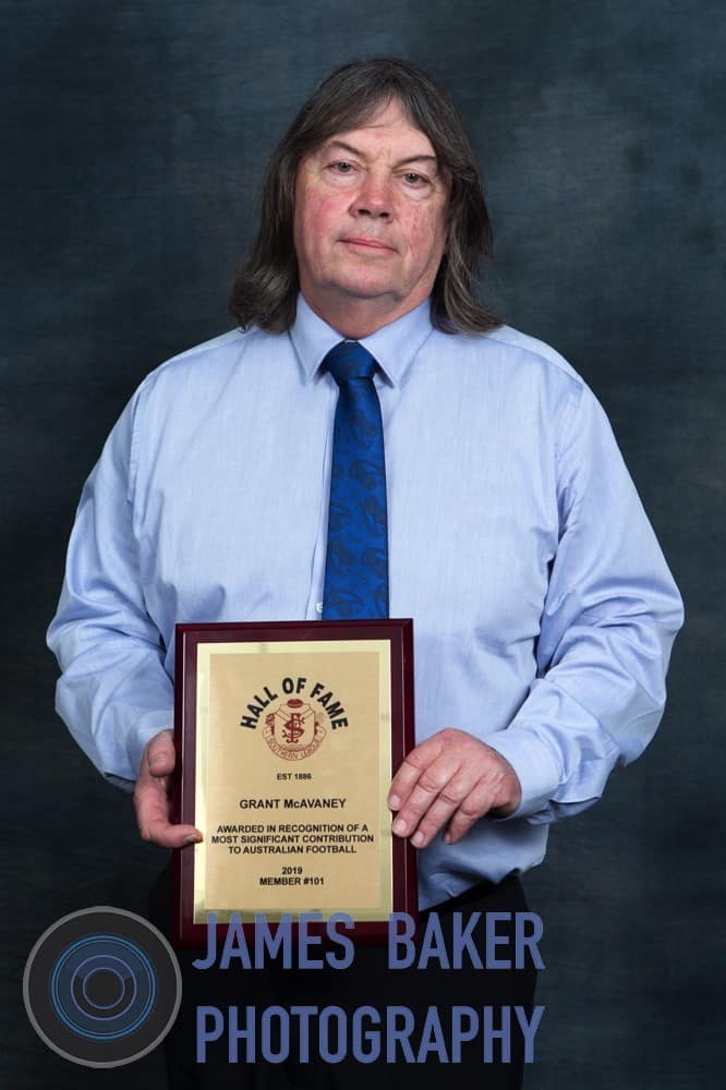 SFL Hall of Fame Recipient – Grant McAvaney