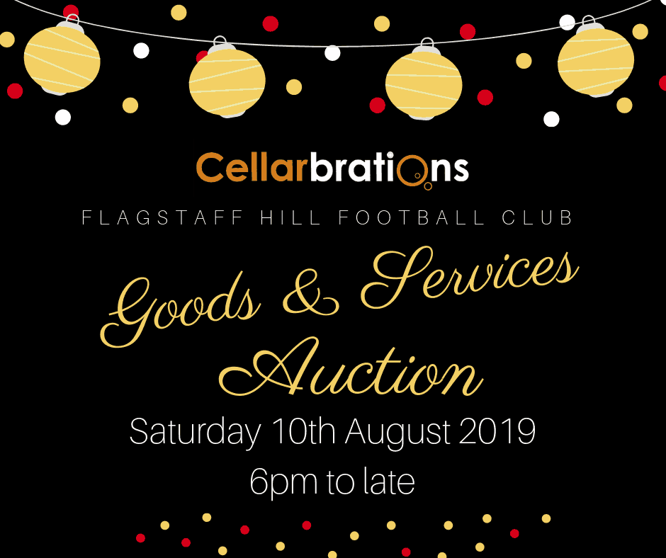 2019 Cellarbrations Goods and Services Auction